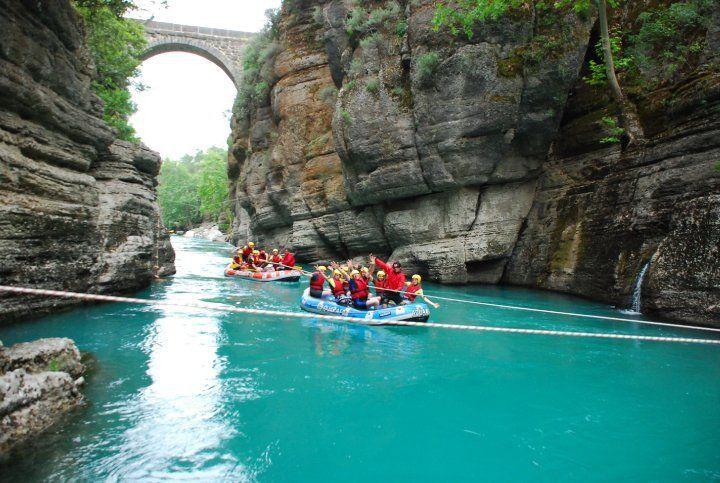 نتيجة بحث الصور عن rafting antalya köprülü kanyon